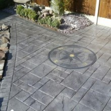 Imprinted Concrete Driveways Stoke on Trent | Staffs Driveways