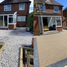 Before & after | Staffs Driveways